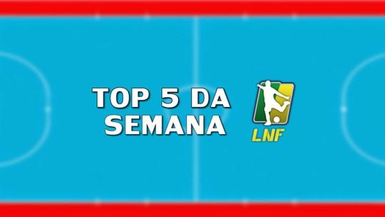 Golaço de Pedro Rei e tabela perfeita da ACBF: confira o top5 da semana