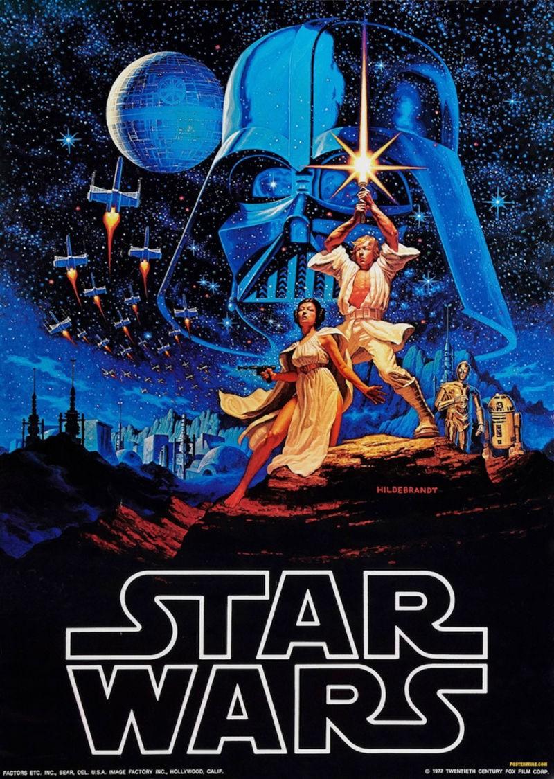 Pôster de Star Wars (Foto: Divulgação)