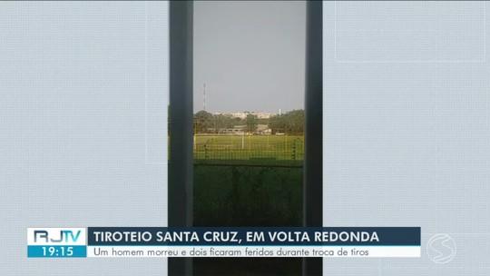 Homem morre e dois ficam feridos durante confronto entre PM e criminosos em Volta Redonda