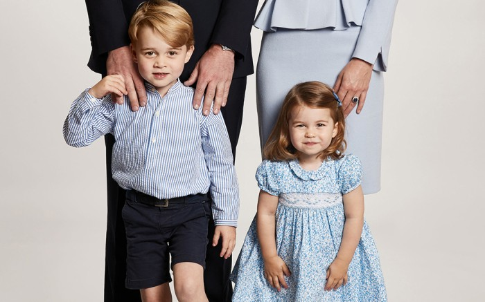 Príncipe George e Princesa Charlotte (Foto: Instagram)