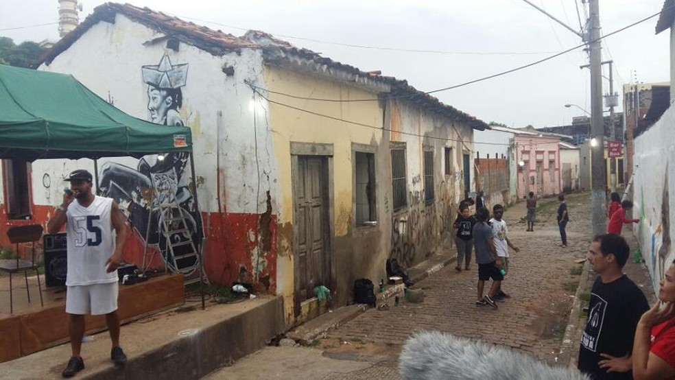 Psicanálise na Rua funciona como um consultório público — Foto: Adriana Rangel/ Arquivo pessoal