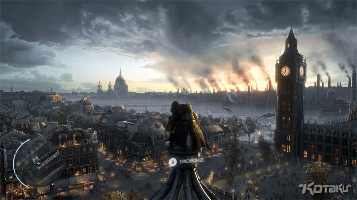 Assassins Creed Victory mostra Londres do século XIX com o Big Ben ao fundo (Foto: Kotaku)