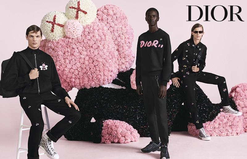 A nova campanha da Dior Homme, com BFF em destaque (Foto: Divulgação)