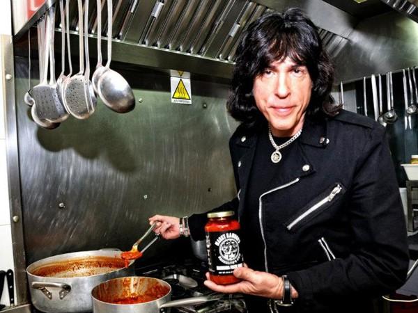Marky Ramone e seu molho de tomates (Foto: Divulgação)