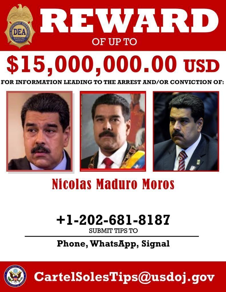 EUA vão enviar navios de combate ao tráfico de drogas para perto da Venezuela