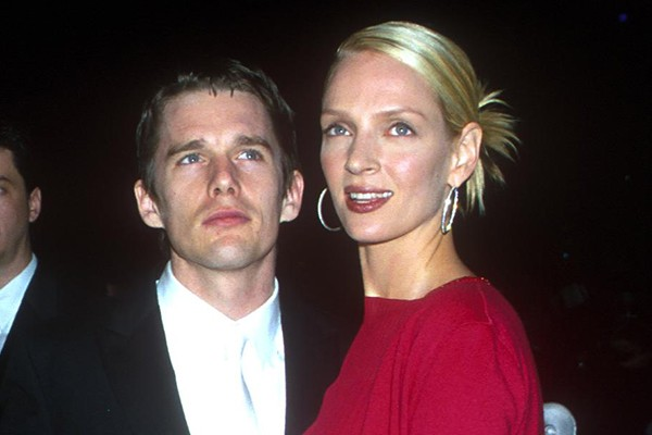 Ethan Hawke e Uma Thurman (Foto: Getty Images)