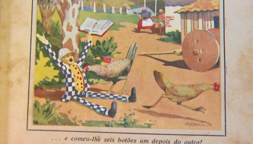 Visconde de Sabugosa foi desenhado por Villin (Foto: Wilson Aiello/EPTV)