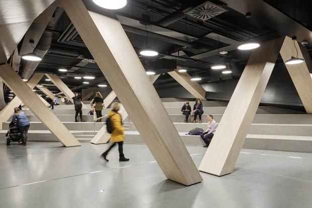 ALA Architects  20190102 Helsinki Central Library Oodi (Foto: ©2018 Tuomas Uusheimo: www.uu)