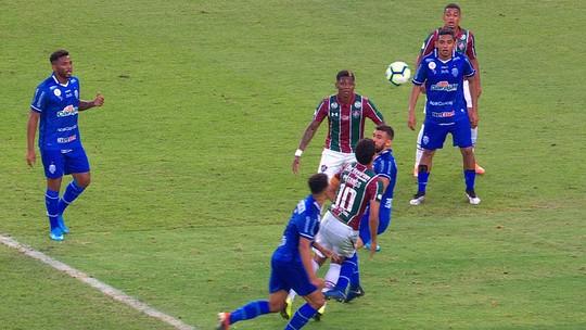 Central do Apito: Ricci enxerga pênalti para o Flu, que anularia gol do CSA