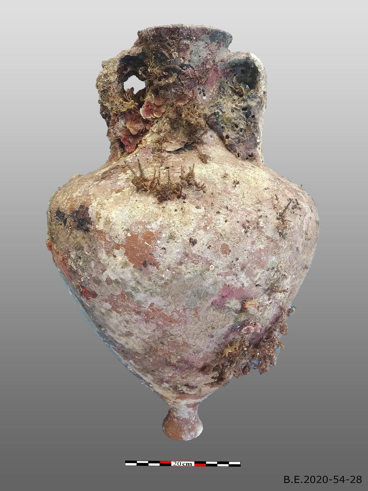 Η ρωμαϊκή ιστιοπλοΐα ανακαλύφθηκε στην Ελλάδα πριν από 1.800 χρόνια (Φωτογραφία: Υπουργείο Πολιτισμού της Ελλάδας)