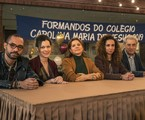 Os professores de 'Segunda chamada' no último capítulo da série | Mauricio Fidalgo/TV Globo