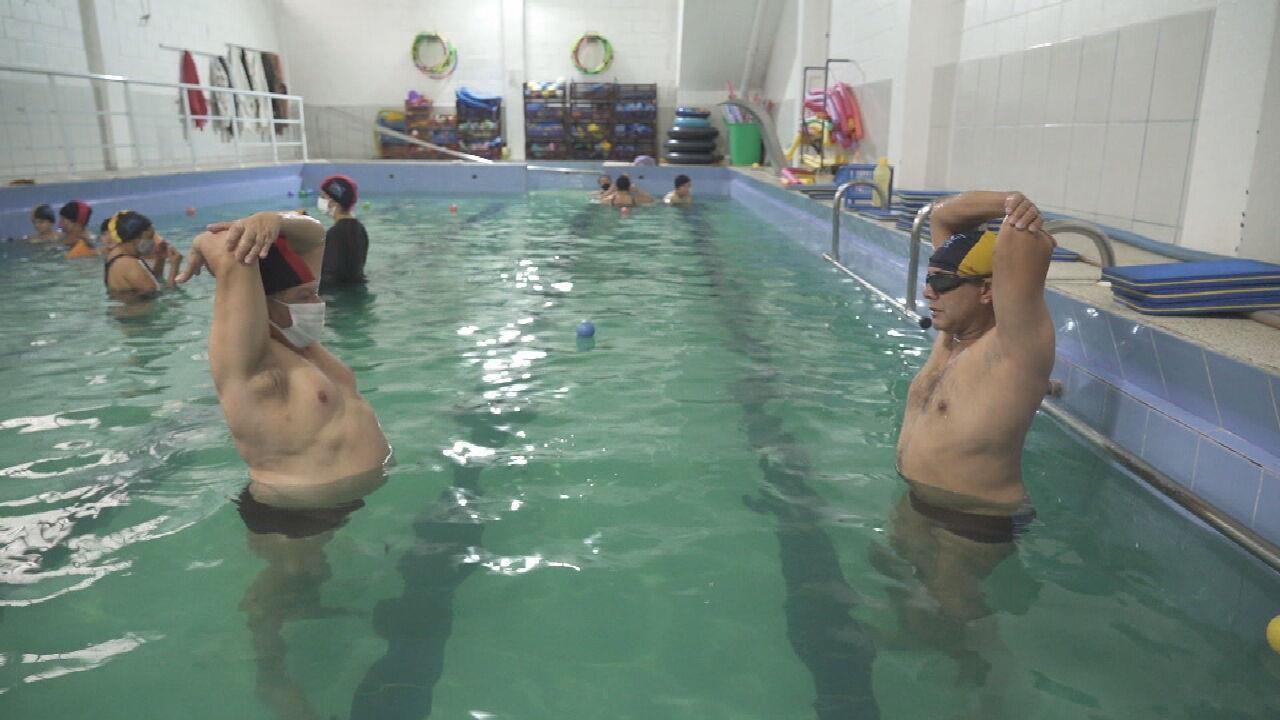 Hidroterapia pode fazer diferença na vida de portadores de deficiência