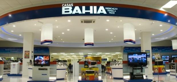 Loja da rede de varejo Casas Bahia , que faz parte da Via Varejo (Foto: Divulgação)