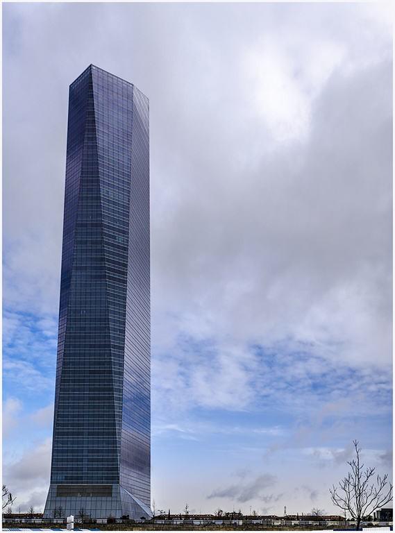 Torre de Cristal em Madri (Foto: Reprodução)