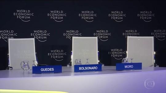 Bolsonaro cancela pronunciamento em Davos