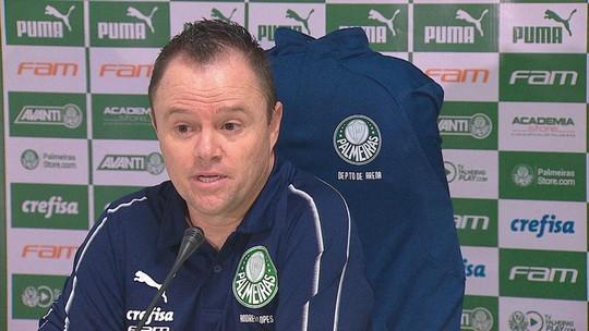 Andrey Lopes elogia Veron e põe segundo lugar como meta do Palmeiras na última rodada