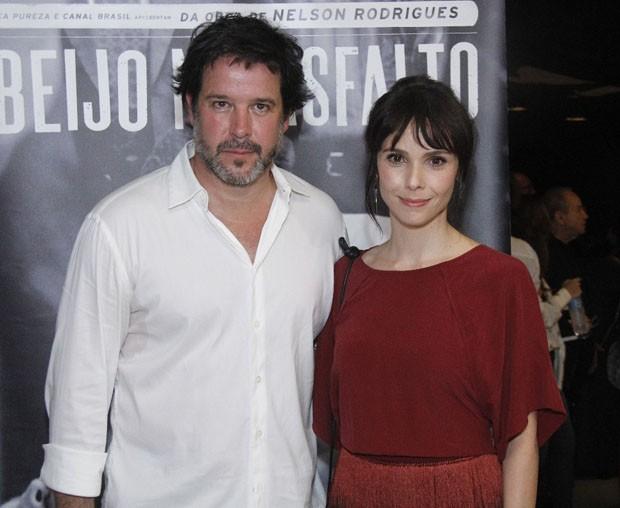 Débora Falabella e Murilo Benício (Foto: Wallace Barbosa/AgNews)