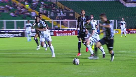 Figueirense 1 x 1 Coritiba: assista aos gols e melhores momentos