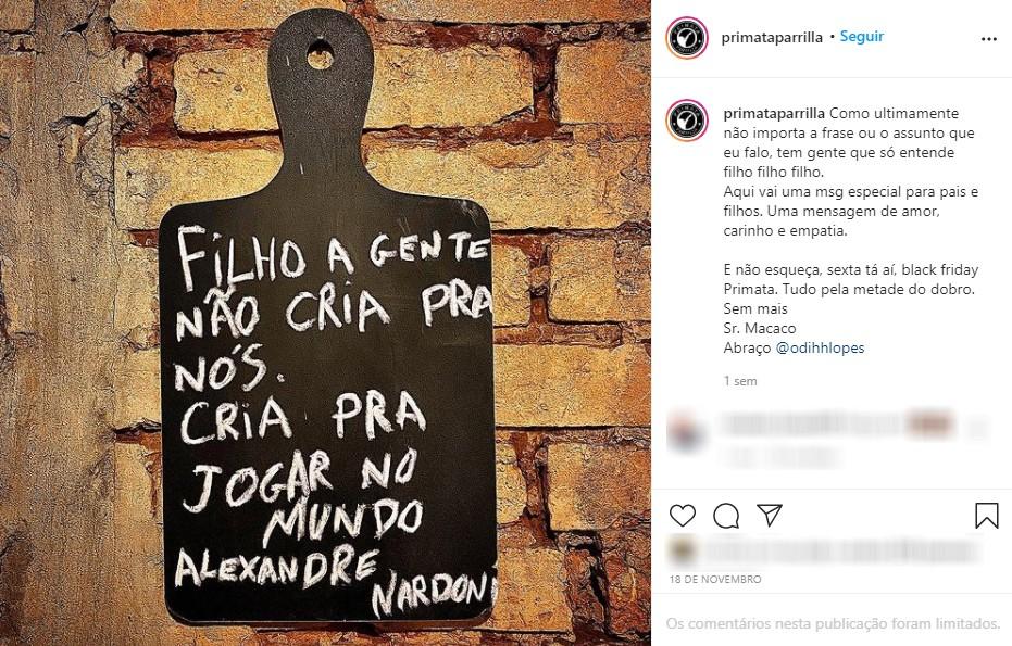 Fundação Procon-SP denuncia à Polícia Civil estabelecimento comercial de Presidente Prudente por suposta prática de apologia ao crime