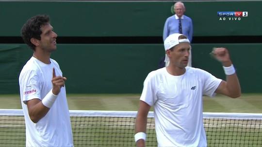 Marcelo Melo derrota rival, vai à final de Wimbledon e garante nº1 do mundo