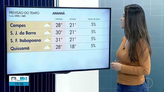 Confira a previsão do tempo para o Norte e Noroeste Fluminense nesta terça-feira (16)