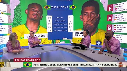 """Jesus ou Firmino? Grafite defende titularidade do 9 da Seleção: """"O Gabriel merece a confiança"""""""