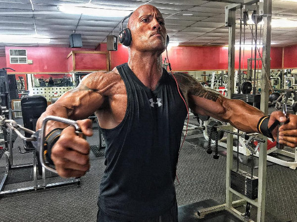 O ator Dwayne The Rock Johnson (Foto: Instagram)