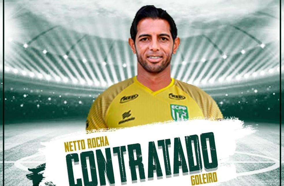 Vitória da Conquista contrata Netto Rocha para a Série D — Foto: Divulgação