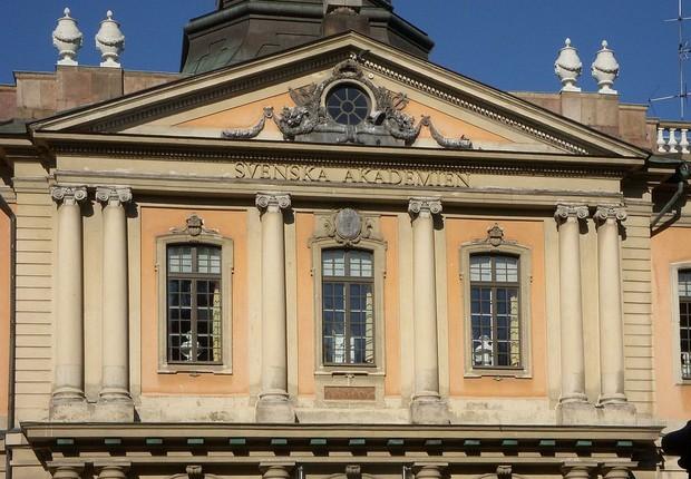 Prédio da Academia Sueca, o Nobelmuseet (Foto: Wikimedia Commons)