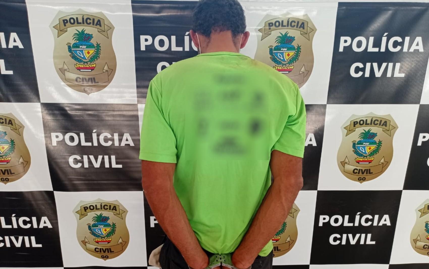 Suspeito de jogar etanol e atear fogo em mulher é preso em Anápolis