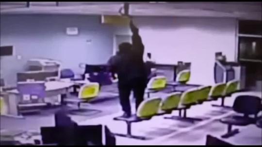Polícia divulga vídeos de assalto a banco em Igreja Nova, AL, ocorrido em 2018