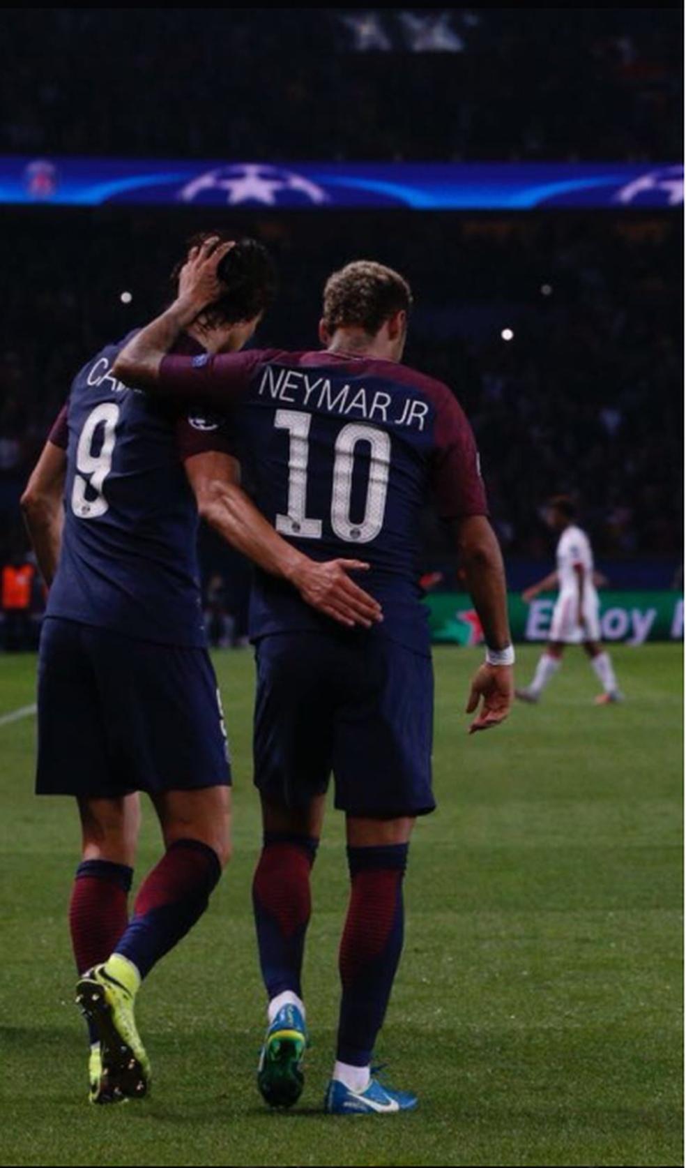 A foto postada por Neymar (Foto: Reprodução / Instagram)