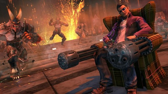 Foto: (Saints Row: Gat Out of Hell leva os Saints ao inferno com todo seu humor e bizarrices (Foto: Reprodução/PlayStation Universe))