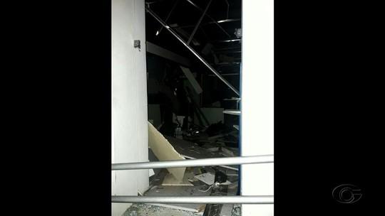 Criminosos explodem agência do Banco do Brasil em Quebrangulo
