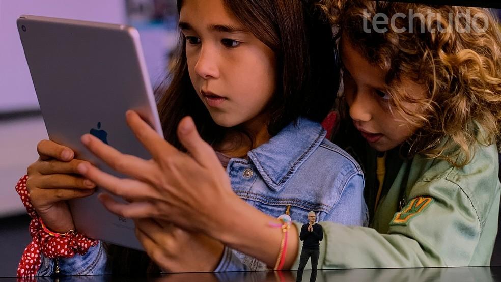 Tim Cook anuncia nova geração do iPad em evento da Apple — Foto: Thássius Veloso/TechTudo