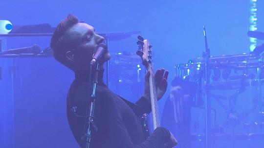 """The xx consegue criar clima """"intimista"""" diante de multidão de milhares no Lolla"""