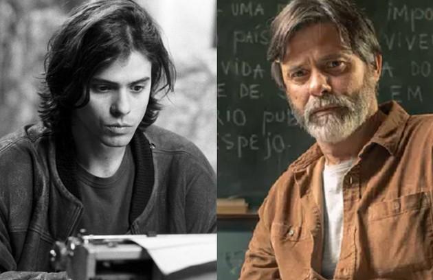 A Marcos Winter coube o papel de José Diogo, poeta que escreve para o jornal. Apaixonado por Helena, acabou se casando com Lídia. O ator foi escalado para a novela 'Gênesis' (Foto: Globo)