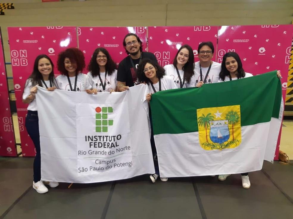 Rio Grande do Norte ganha 20 medalhas na Olimpíada Nacional em História do Brasil — Foto: Divulgação/IFRN