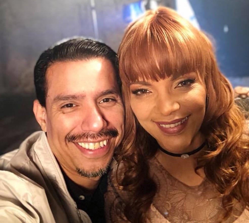 Flordelis e o marido, o pastor Anderson Carmo — Foto: Reprodução / Facebook