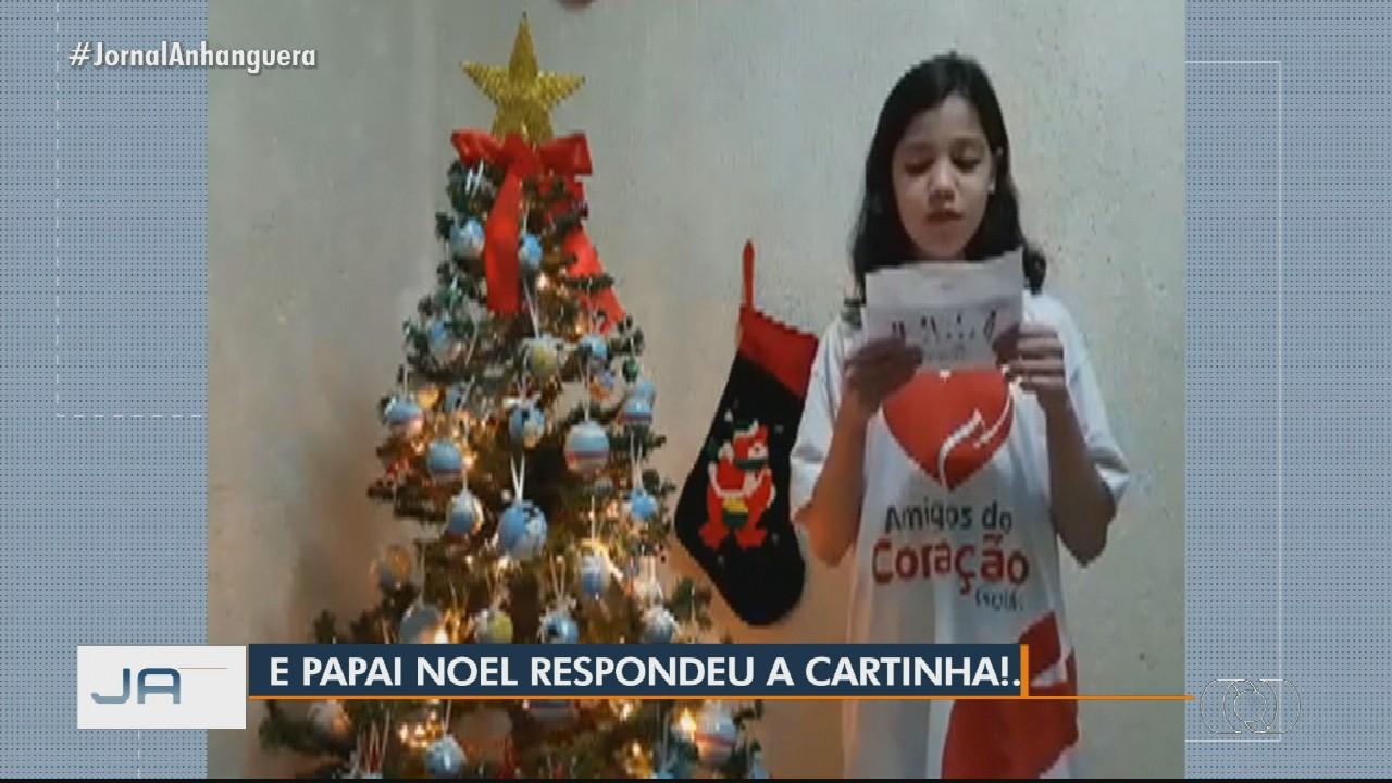 Menina que pediu cateterismo em carta ao Papai Noel recebe alta após realizar cirurgia