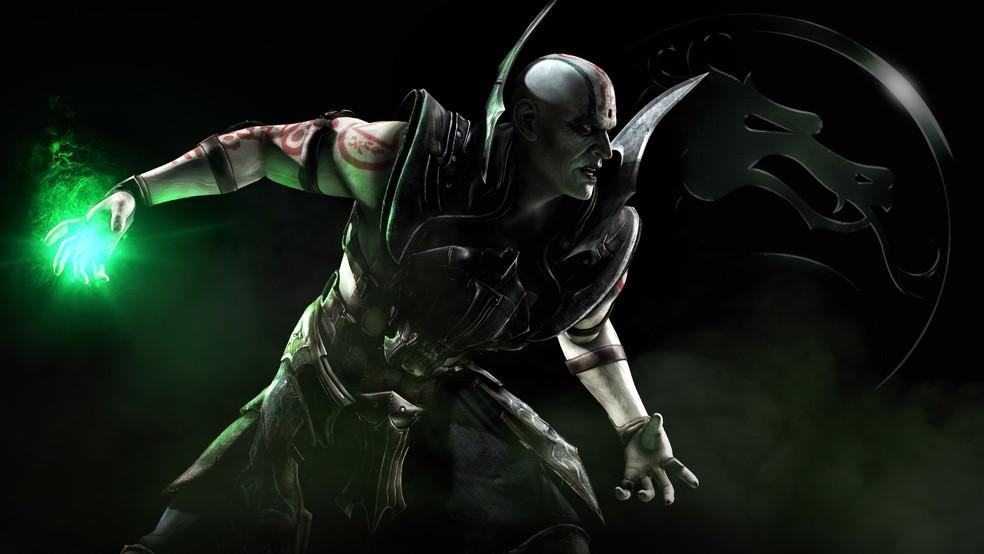Quan Chi e seu Teleport Stomp são impossíveis de escapar — Foto: Divulgação/Mortal Kombat