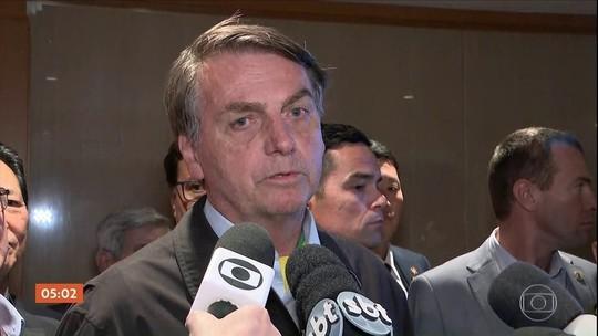 Bolsonaro chega ao Japão para giro por Ásia e Oriente Médio