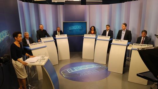 Candidatos ao governo do Piauí participam de debate na TV Clube