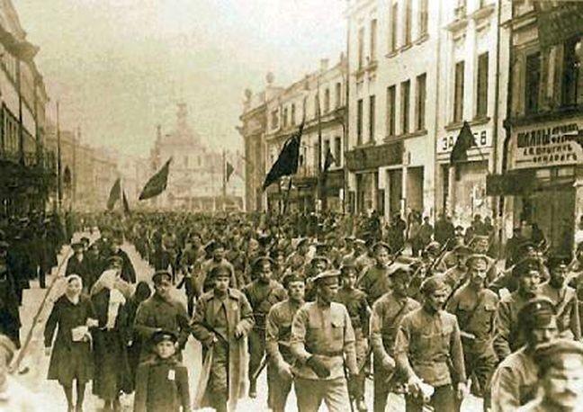 A Revolução Russa de 1917 (Foto: Divulgação)