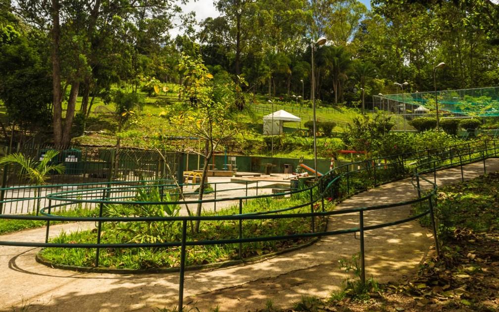 Parque Shangrilá protege rio de mesmo nome que abastece o Rio Tietê, na Zona Sul de São Paulo — Foto: Prefeitura de São Paulo/Divulgação