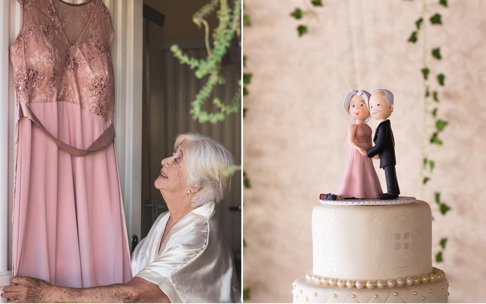 Detalhes do casamento de Dirce e João neste sábado (23) em Ribeirão Preto, SP — Foto: Mariana Pizzo/Divulgação