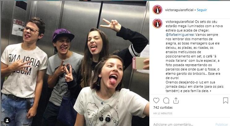 Victor Aguiar (Foto: Reprodução/Instagram)