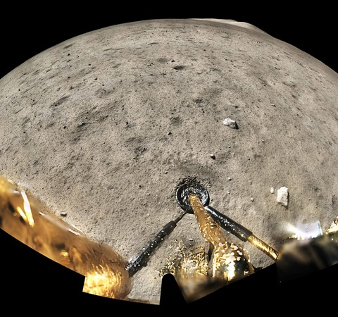 Sonda chinesa revela vulcanismo mais recente do que o esperado na Lua