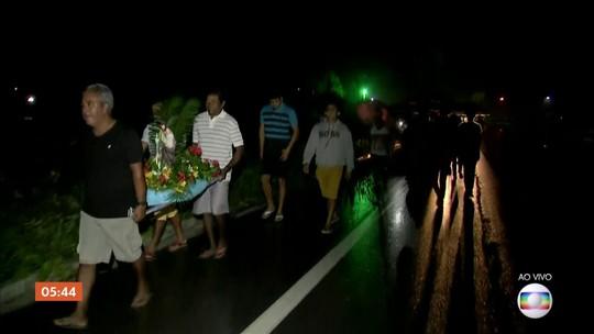 Devotos celebram o Dia de São José; nordestinos pedem chuva e boas colheitas