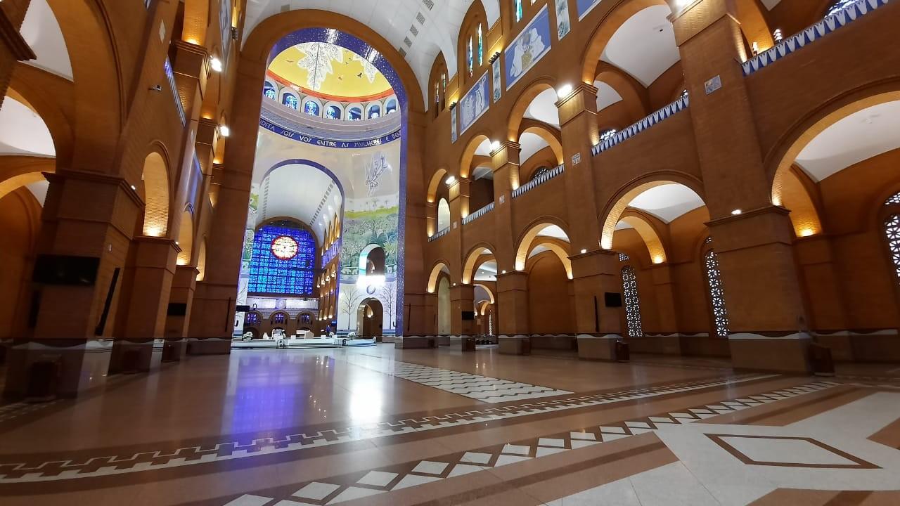Aparecida autoriza reabertura gradual do Santuário Nacional a partir de 28 de julho